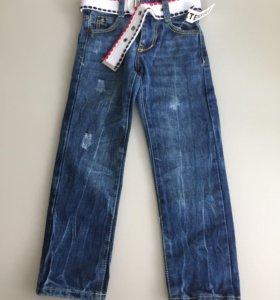 Новые джинсы для мальчика 2-3 года