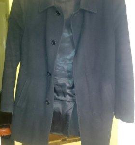 Пальто мужское, утепленное. Размер 48-50