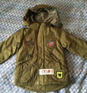 Куртка для мальчика новая, 116,122,128
