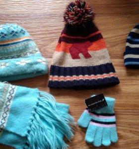 Зимние шапки на мальчика