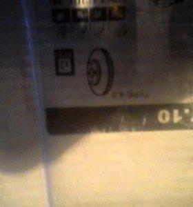 Тормозные диски переднии митсубиси протон