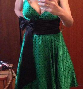 Выпускное коктейльное платье стиляга