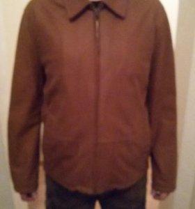 Кожанная куртка CHRIST Новая