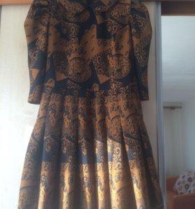 Платье ( жаккард )