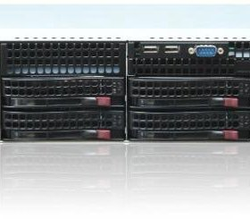 1-u двухъядерный сервер Supermicro SuperServer
