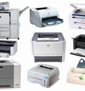Лазерные МФУ и принтеры