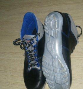 Ботинки лыжные. р. 44