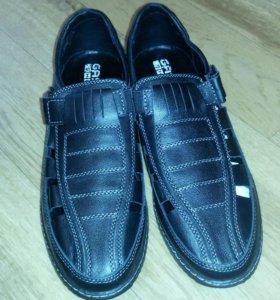 Ботинки. Кожа. Новые.