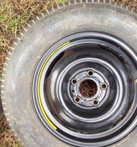 Докатка, Запасное колесо