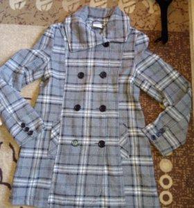 Пальто деми 20%шерсть