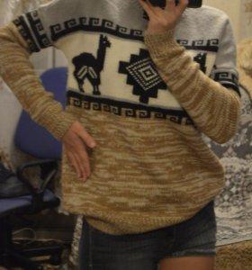 Новый свитер с ламами