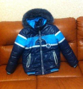 Куртка зимняя мальчик