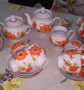 чайный сервиз,Барановка, СССР