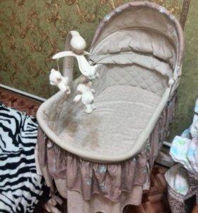 Люлька для младенца от 0-6 месяцев