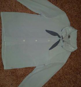Блузка на 1 или 2 класс