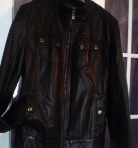 Кожаные женские куртки.