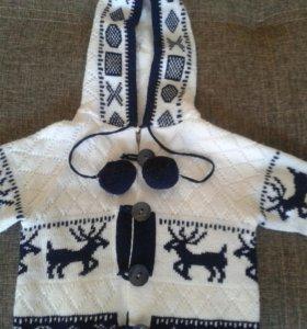 Детская курточка-кофточка