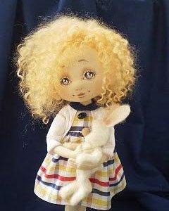 Авторские куклы, мишки и игрушки !