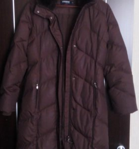 Теплый зимний пуховик
