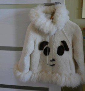 """Шуба детская """"Панда"""""""