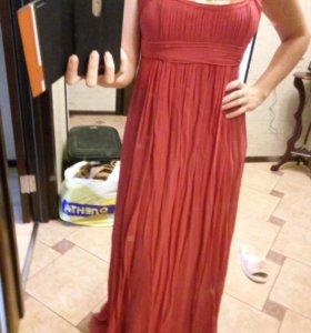 Платье в пол шелковое Charuel
