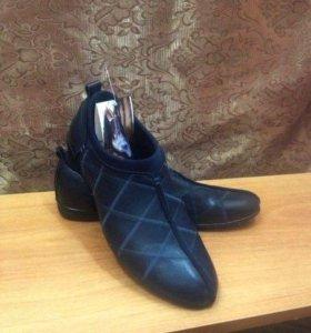 Натуральные мужские туфли NEW
