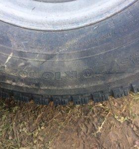 Зимние колёса шипованые