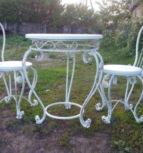 Кованые мебель комплект