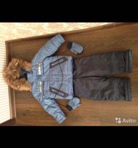 Зимние комбинезон и куртка
