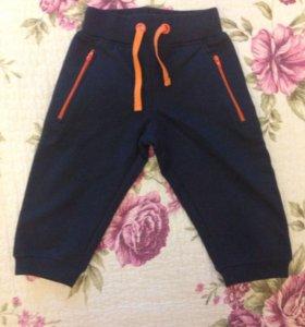Новые спортивные штаны брюки детские
