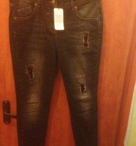 Новые джинсы Motivi,блузка Mango