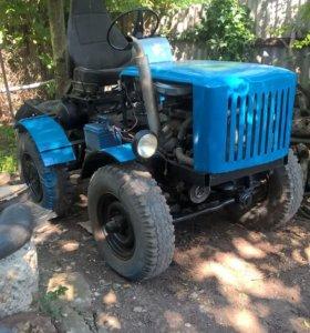 Самоделный трактор