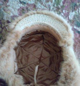 Новая шапка вязаная норка