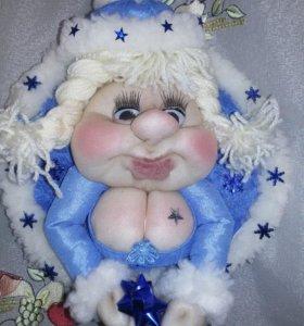Кукла попик снегурочка