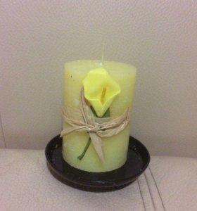 Свеча ароматизированная