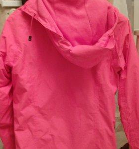 Спортивная куртка на флисе. Adidas оригинал