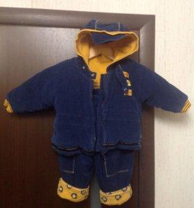 Комбинезон р.80-86(куртка+штаны) осень-весна