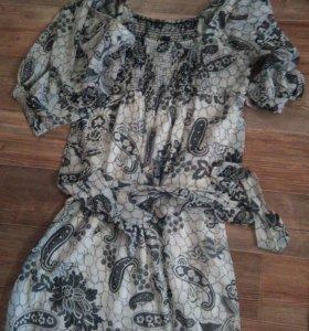 Платье. Очень легкое.