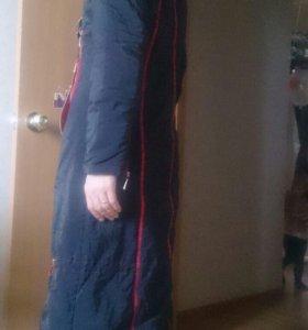 новое пуховое пальто р  42-44