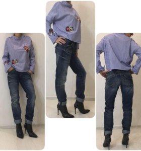 Кофта, новая, р 42-46, джинсы Pepe jeans, оригинал