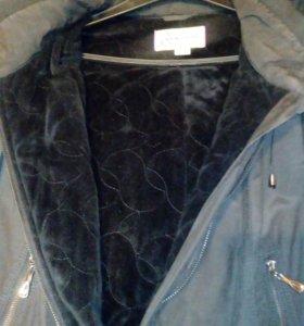 Пальто утепленное в отличном состоянии