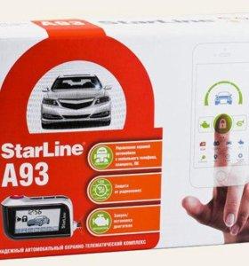 Сигнализация Starline A93 CAN+LIN ECO