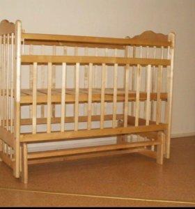 Кровать с ортопедическим матрасом