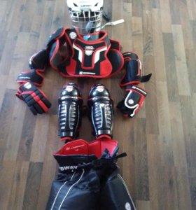 Детский набор хоккейной защиты