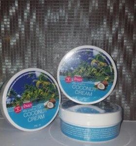 Крем д/тела -с кокосовым маслом -250мл