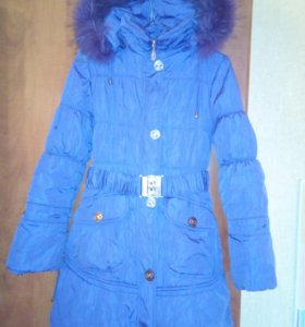 Пальто зимнее рост 152