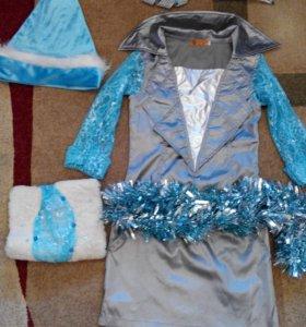 Платье для девочки к Новому году.