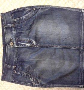 Юбка джинсовая р26. Новая.