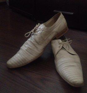 Туфли мужские кожаные 44