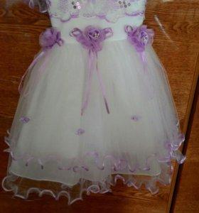 Красивое, детское платье на 1годик
